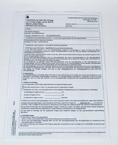 SEPA-Lastschrift Antrag