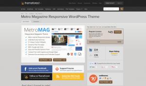 Themeforest: Metro Mag