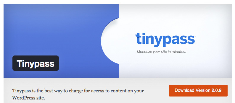 Paywall Plugin tinypass