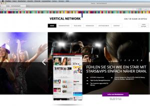 Webseite von verticalnetwork.de