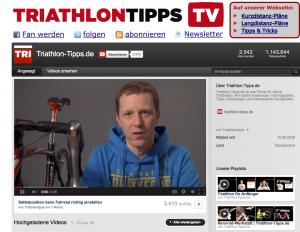 Video auf Youtube von Triathlon-Tipps.de