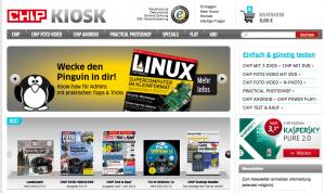 Online-Kiosk von CHIP