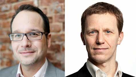 Karsten Lohmeyer und Stephan Goldmann (v.l.)