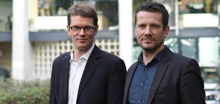 Denis Dilba und Georg Dahm (v.l.). Foto: Frank und Tinka Dietz