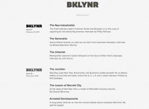 Webseite bklynr