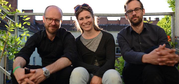 Kia Schächtele, Birte Fuchs und Christian Frey (v.l.)