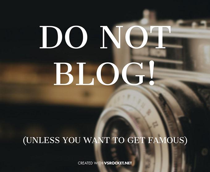 DoNotBlog