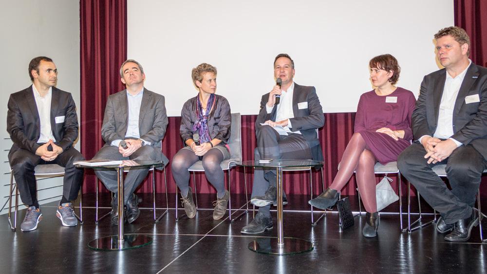 Diskussionsrunde mit Vertretern deutscher Tageszeitungen