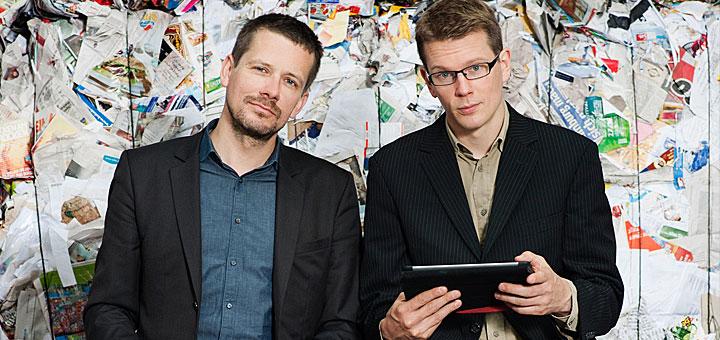 Georg Dahm und Denis Dilba. Foto: Helen Fischer