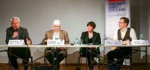 Podiumsdiskussion zur Zukunft des Journalismus