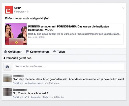 CHIP: Porno schauen mit Pornostars