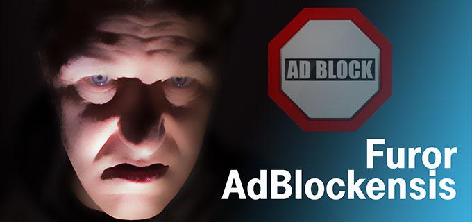 """Komposition aus Foto von Stephan Goldmann und Vectorgrafik """"Ad Block"""" von © vector_master / Fotolia"""